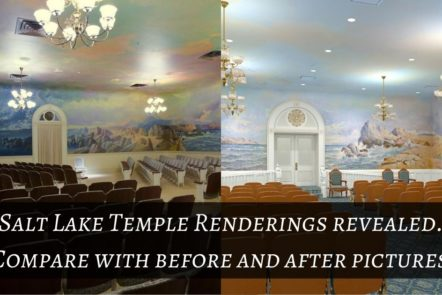 Salt Lake Temple Renderings revealed. Compare with before and after pictures!